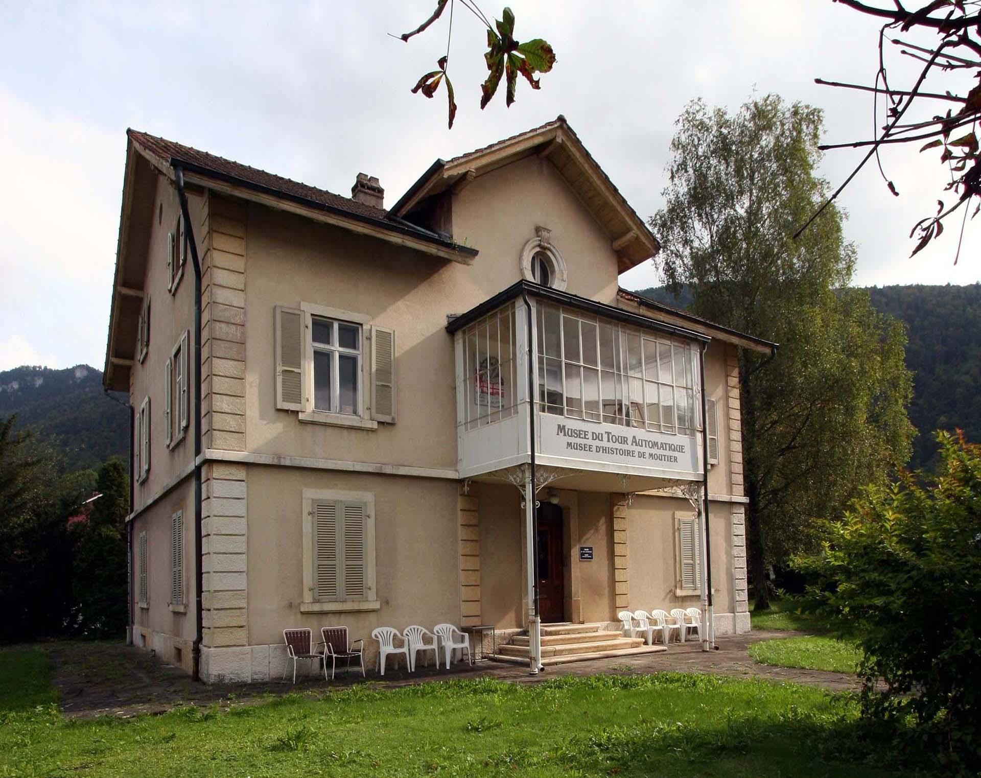 Villa Junker abritant le Musée du Tour Automatique et d'Histoire de Moutier