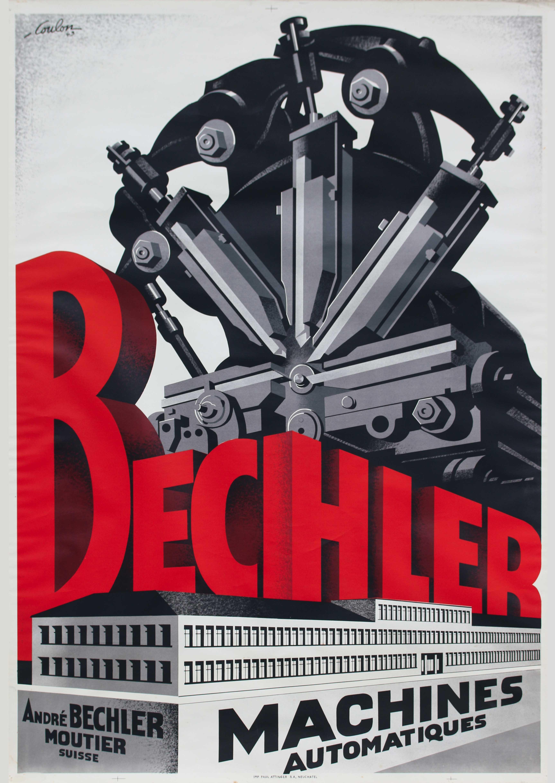 Affiche Bechler (1943)