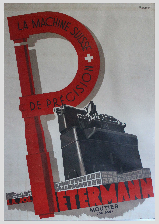 Affiche Petermann (1945)