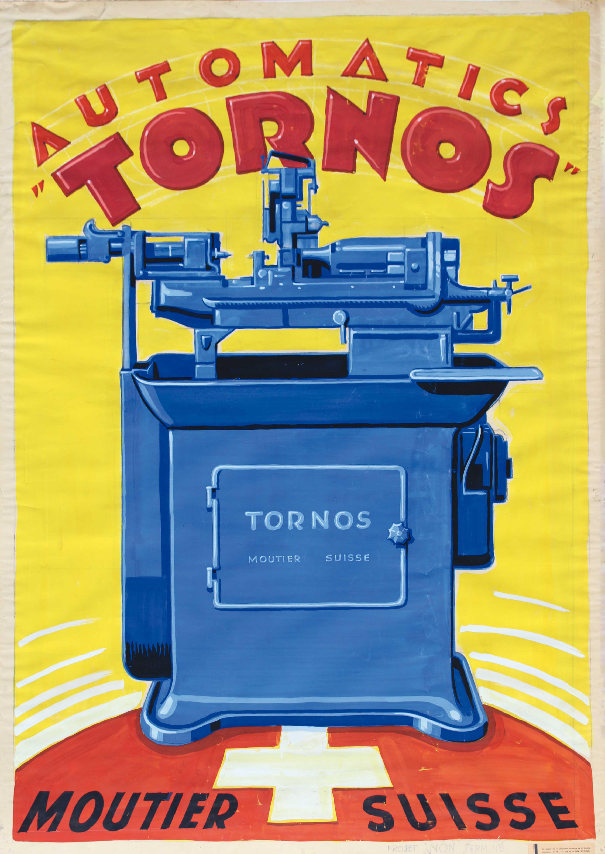Affiche Tornos (vers 1930)