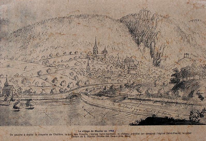 Village de Moutier (1755)