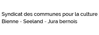 logo du syndicat des communes pour la culture bienne seeland jura bernois